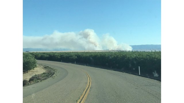 Fresno County wildfire reaches 1,500 acres burned