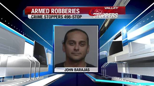 Armed robbery suspect in custody after high speed chase in Fresno, Madera counties