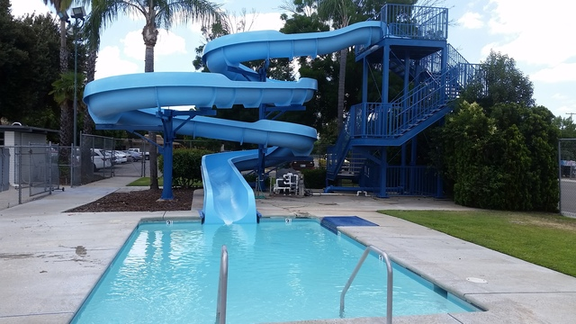 Apache Slide at Sanger pool reopens next week for recreational swimming