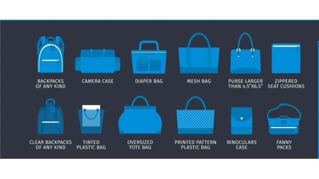 Leave your diaper bag at home. Fresno Convention Center bans certain bags