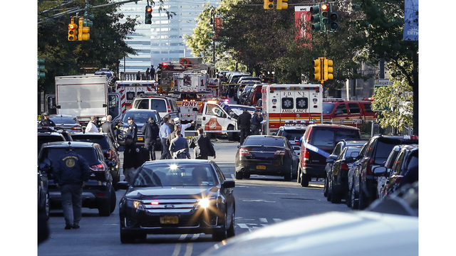 Police respond to shots fired near World Trade Center site