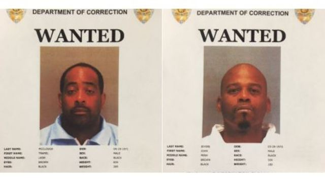 Police search for two inmates who escaped from a Palo Alto courthouse