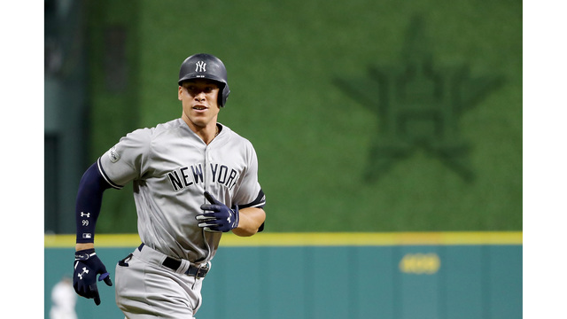 Former Diamond 'Dog Aaron Judge wins Rookie Of Year Award in unanimous vote