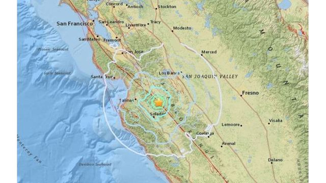 4.7-magnitude earthquake rattles parts of Central Valley