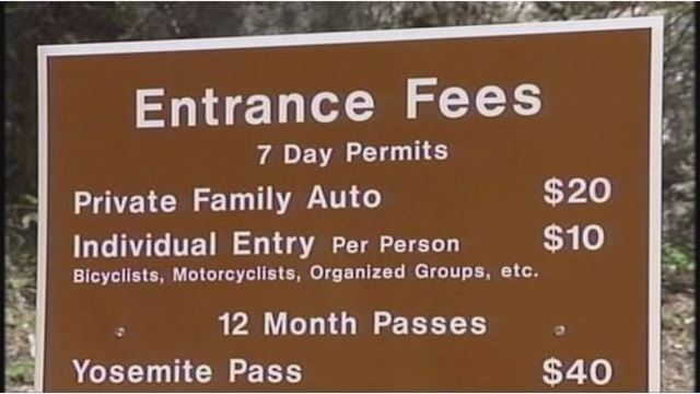 National Parks Fee Input