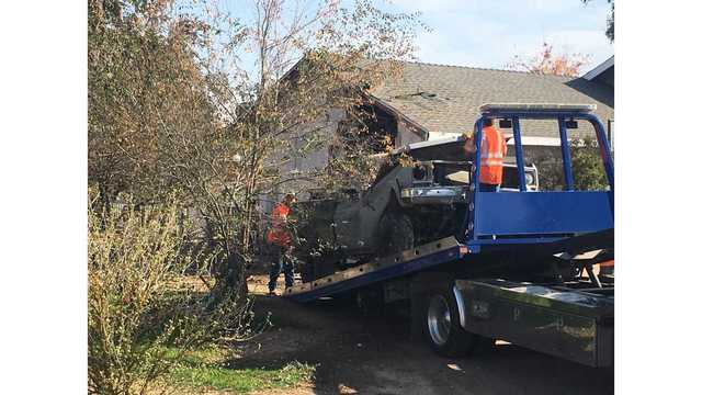 11-year-old boy killed after auto crashes into Madera home