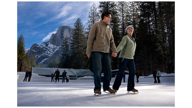 Half Dome Village Ice Rink opens Saturday in Yosemite Valley