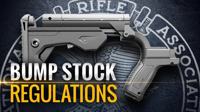Trump recommends banning of 'bump stock' gun modifications