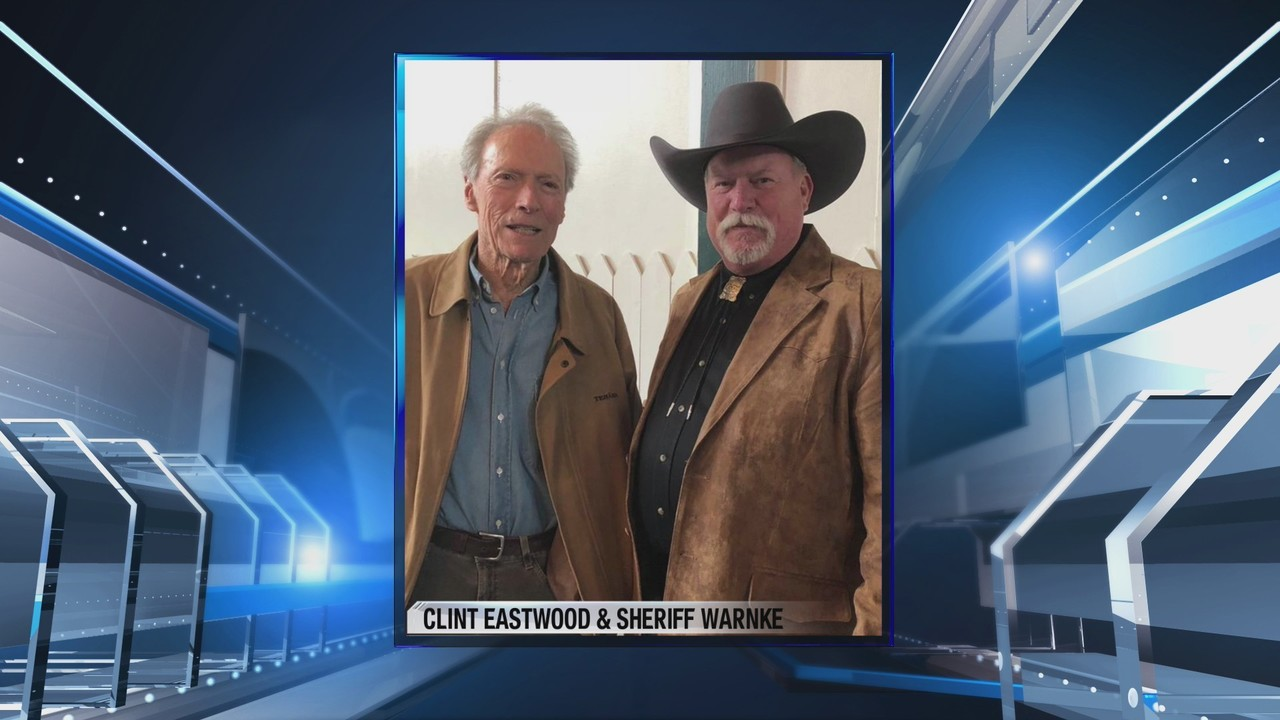 Merced County sheriff met Dirty Harry himself actor Clint Eastwood