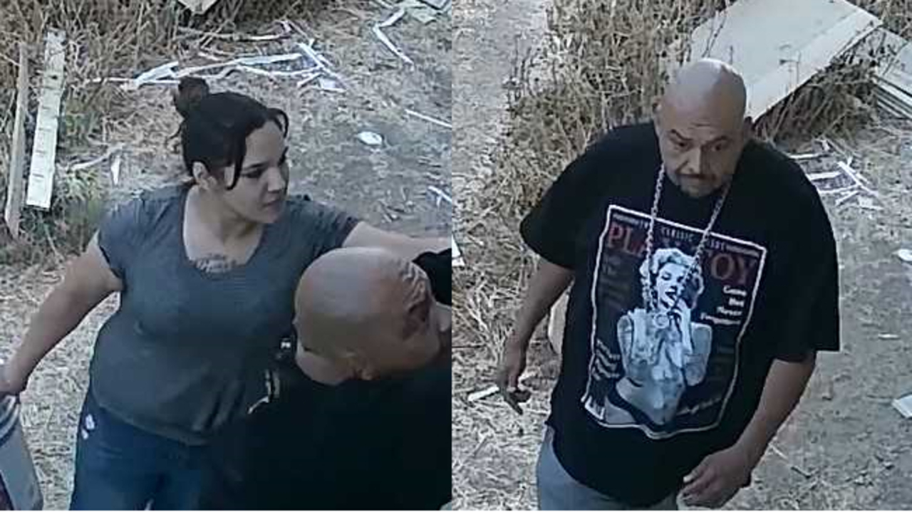Sheriff's office searching for two suspected of burglarizing a home undergoing a remodel