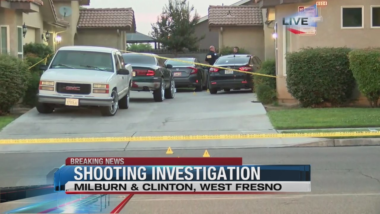 Shooting Investigation in West Fresno