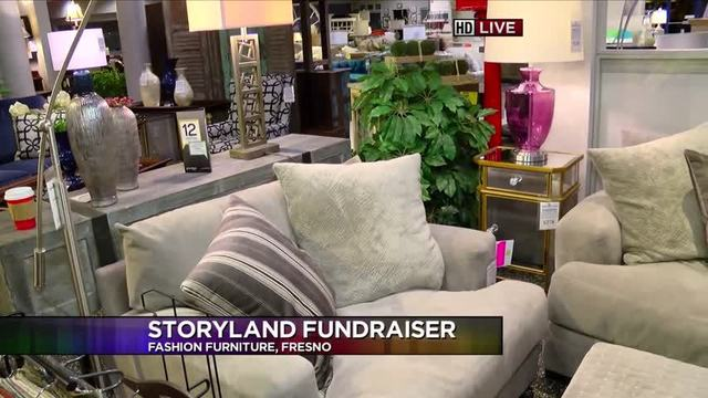Fashion Furniture S Event Benefits Storyland Playland Welcome To The Living Room