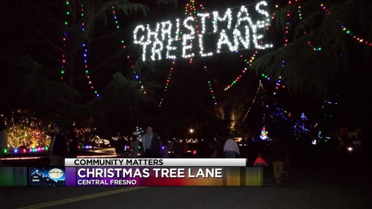 Christmas Tree Lane Fresno.Walking Christmas Tree Lane