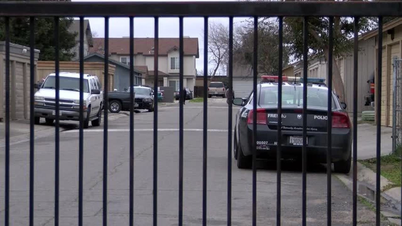 police fresno baby dies father may have rolled over on her in his