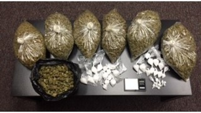 Porterville Police recover over 11 ounces of methamphetamine, 7 pounds of marijuana from business