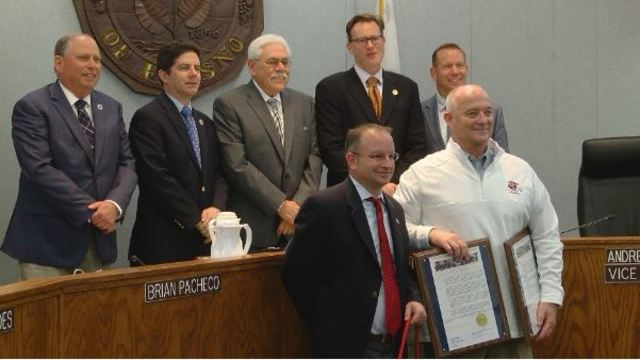 Feb. 6th proclaimed as 'Fresno State Football Day' and 'Coach Jeff Tedford Day'