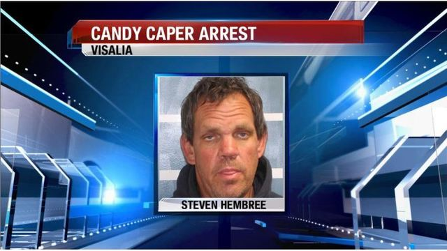 Candy Theft Caper Leads To Burglary Arrest In Visalia