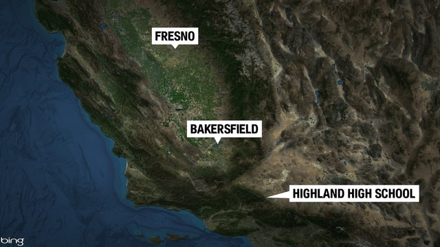 1 injured in shooting at Highland High School in Palmdale, suspect in custody