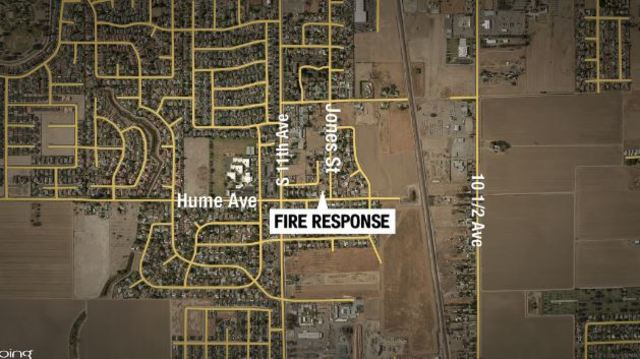 Handicapped woman killed in Hanford house fire