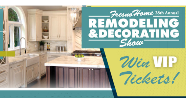 Register to Win VIP Tickets to Fresno Summer Home and Garden Show 2018