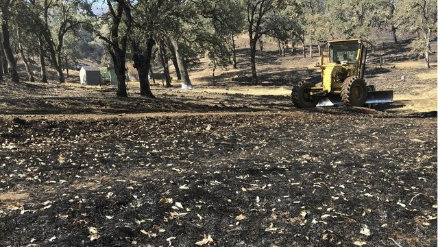 Firefighting scars the earth. California crews are fixing it