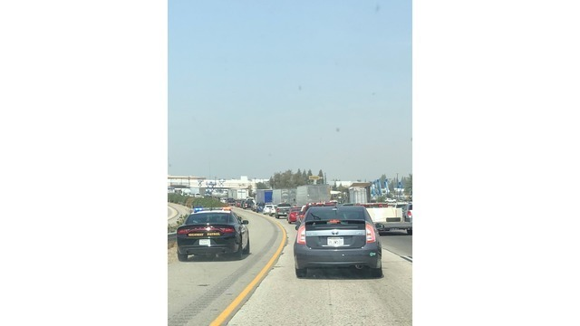 Officer-involved shooting shuts down all lanes on Highway 99