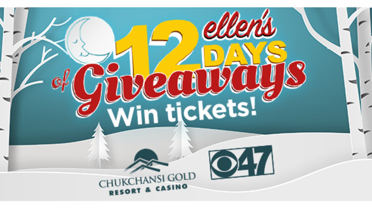 12 days of giveaways tickets 2018
