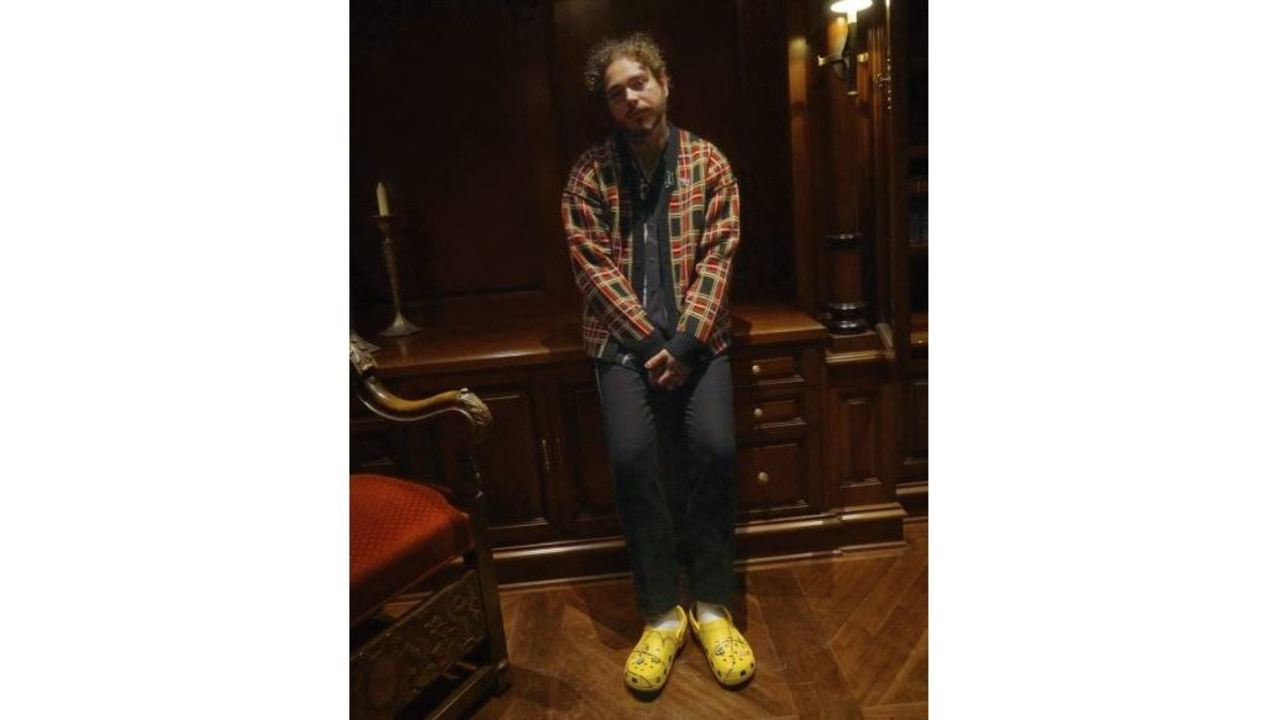 7c61022f4e17 Post Malone Crocs sold out in minutes