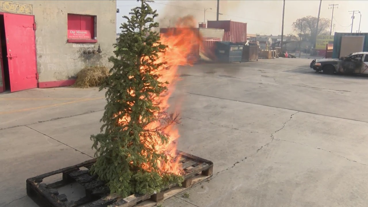 Fresno Fire Department Warning People Of Potential Hazards From Dry