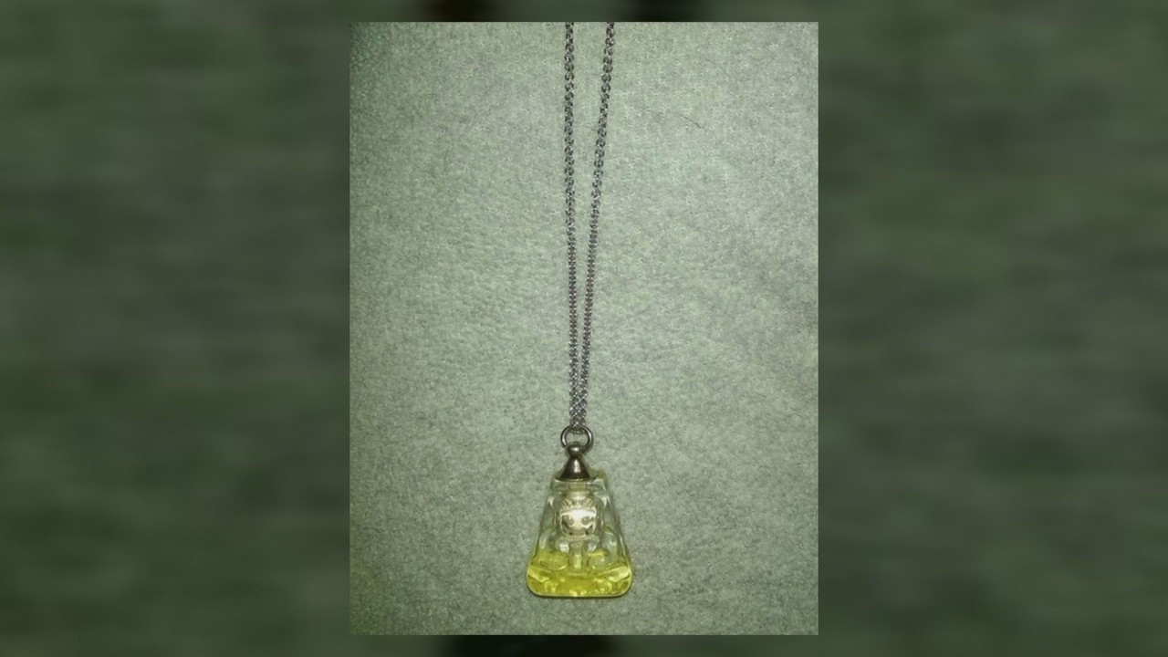 Necklace With Human Remains Stolen From Fresno Man's Car