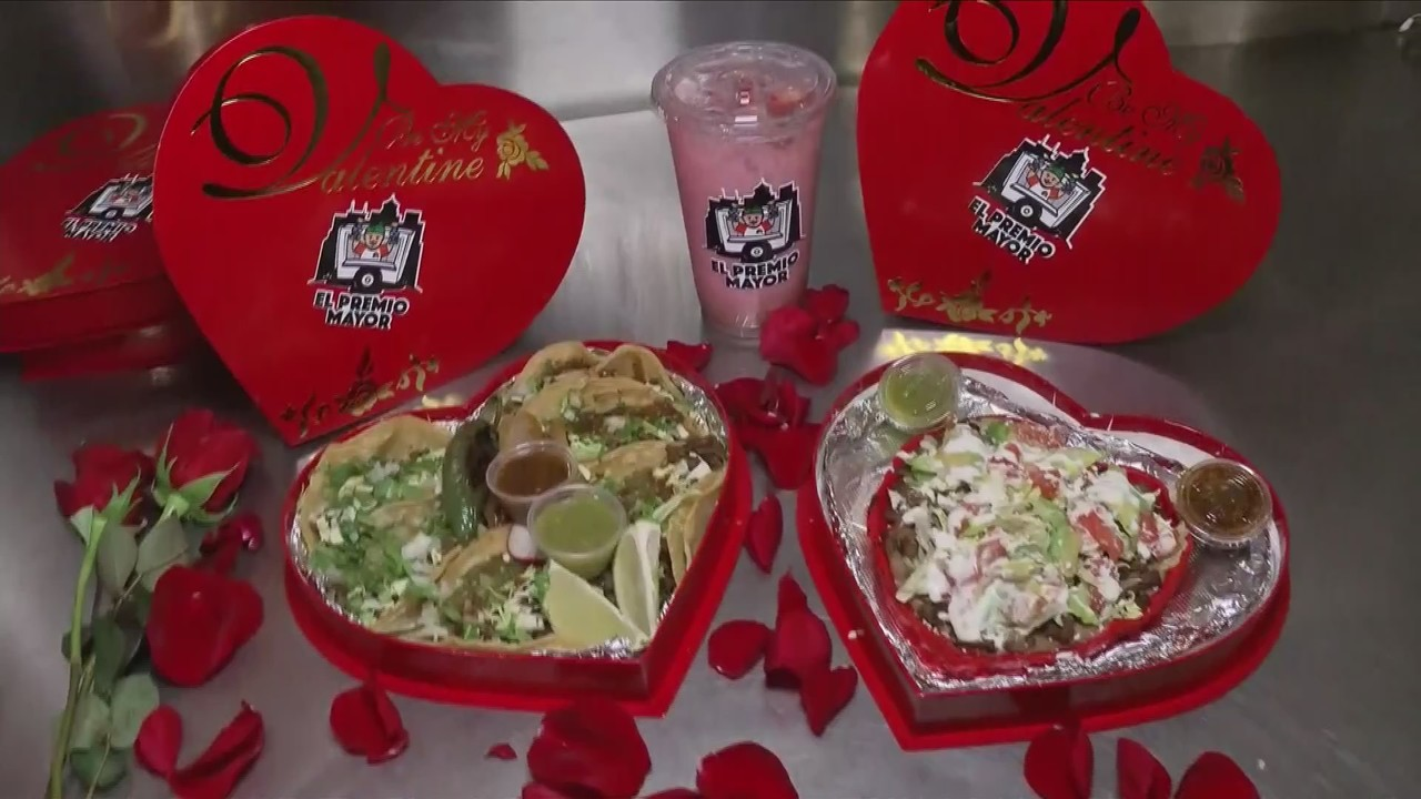 Forget the chocolate this Valentine's Day, give tacos to your loved ones instead