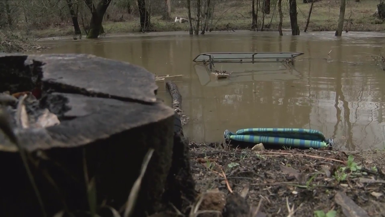 People living in North Fork brace for potential flooding