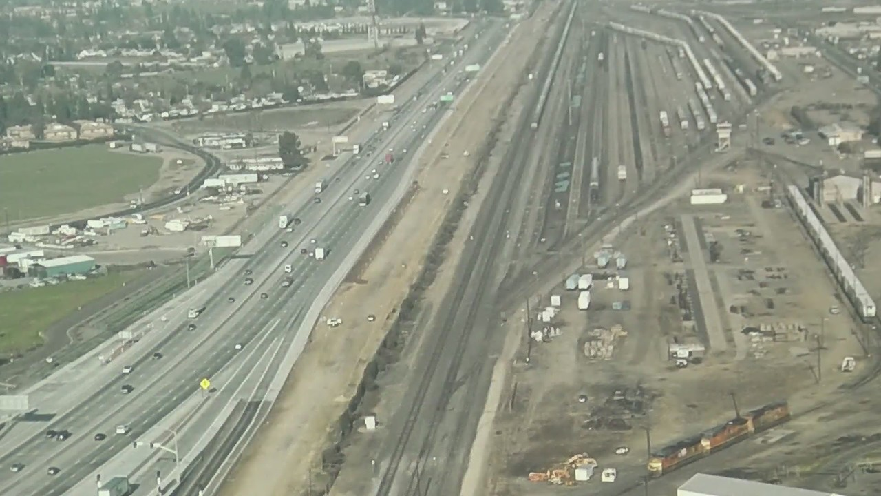 City of Fresno celebrates Highway 99 realignment, making room for high-speed rail