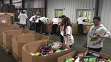 Metallica fans were out at the Central California Food Bank for the second annual Day of Service